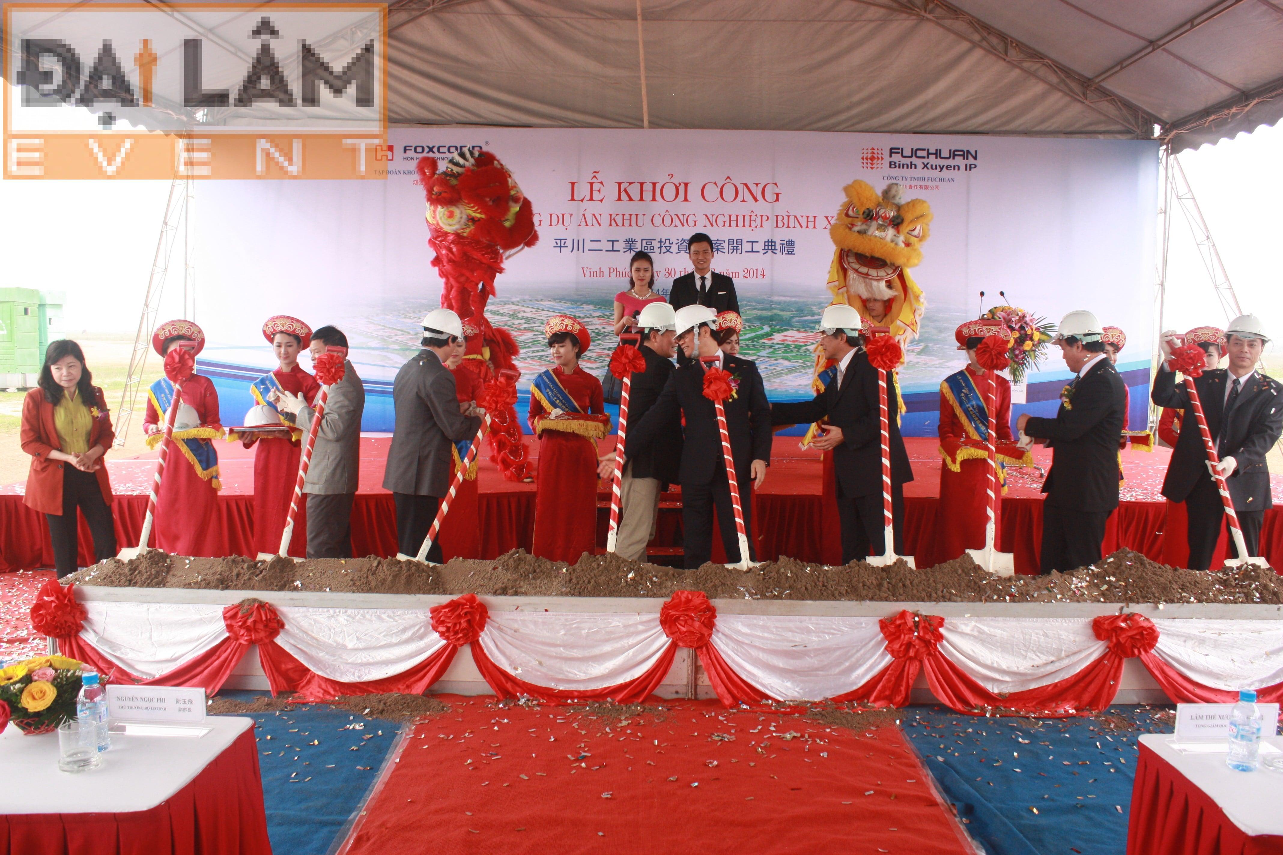 Lễ khởi công xây dựng khu công nghiệp Bình Xuyên II