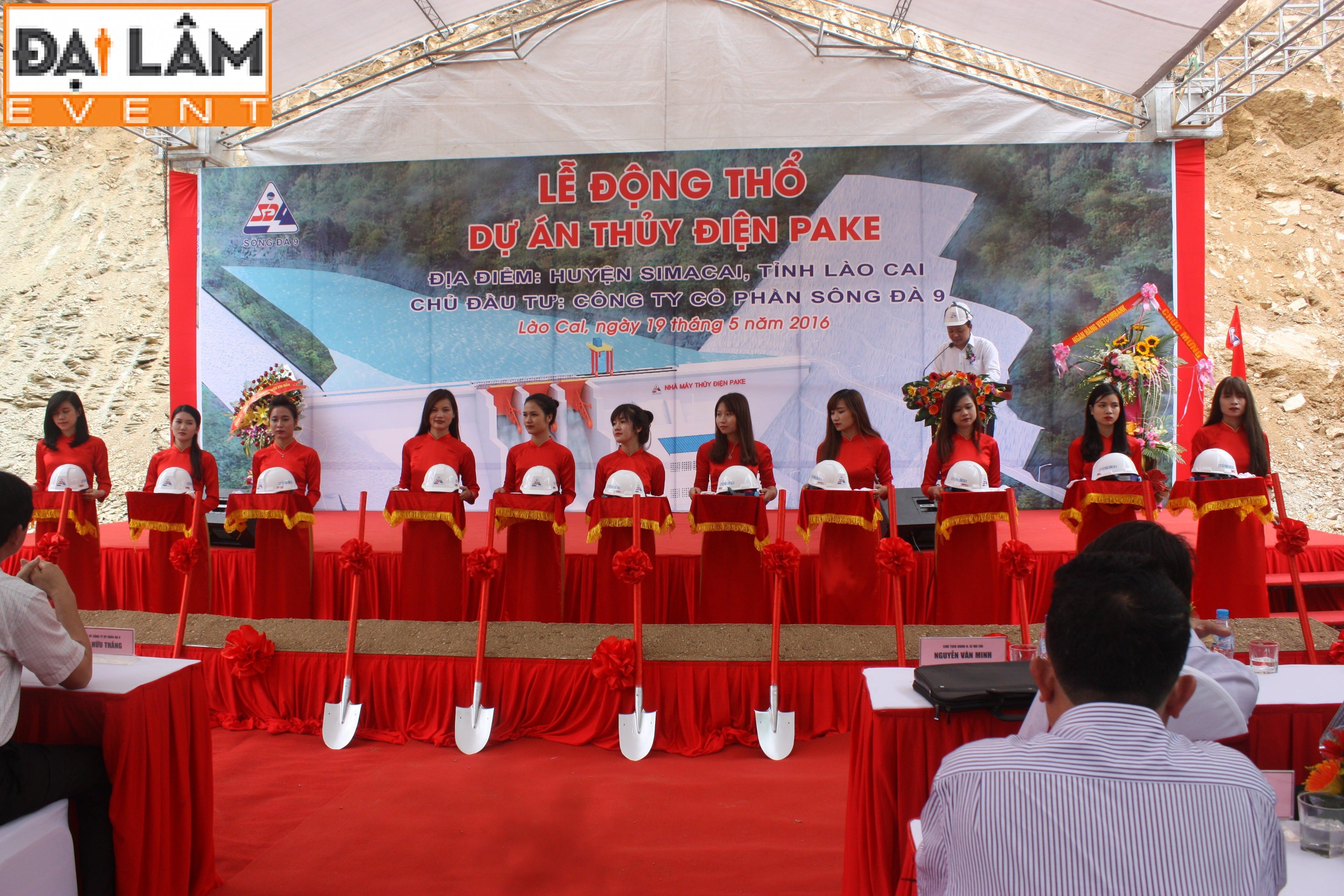 Lễ động thổ dự án thủy điện Pake