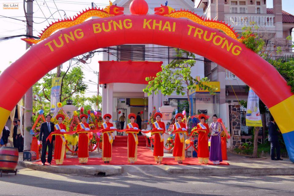 Dịch vụ tổ chức lễ khai trương trọn gói tại Hà Nội.