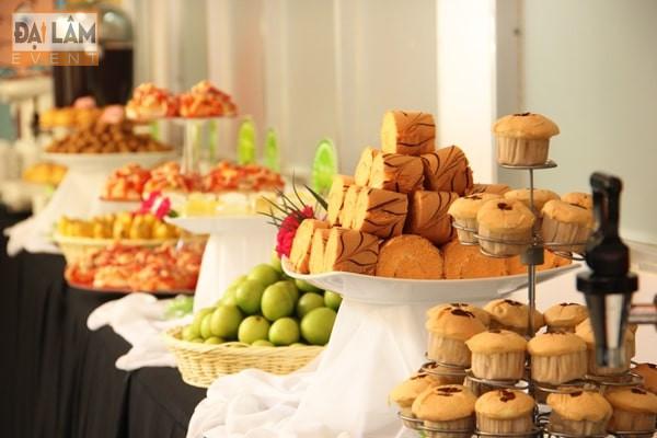 tổ chức tiệc trà ngọt teabreak