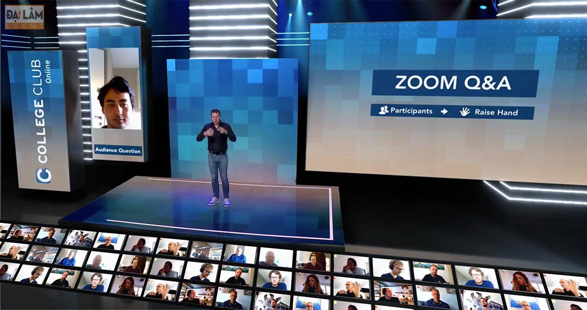 tổ chức sự kiện online virtual là gì