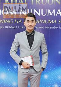 Đại diện Công ty Ninuma Hà Nội