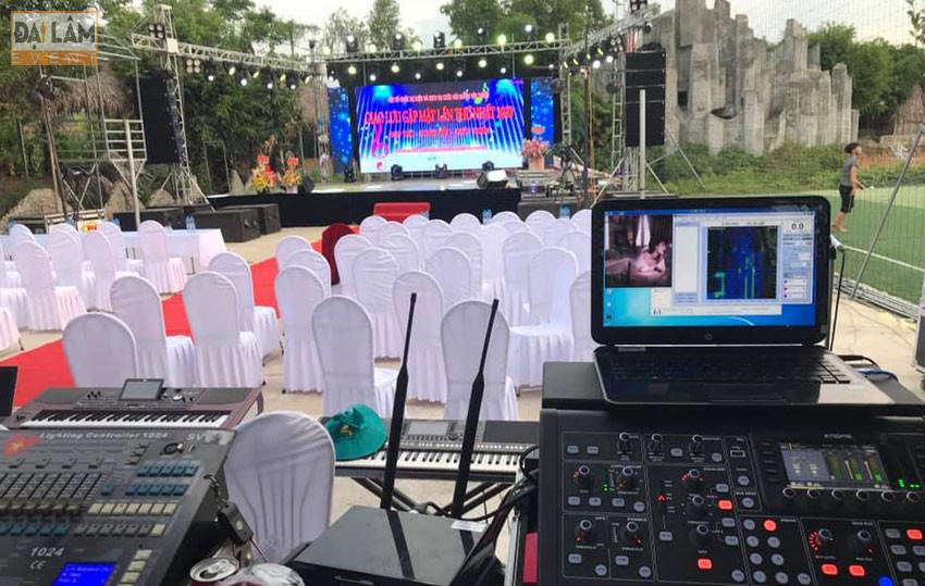 kinh nghiệm setup dàn âm thanh trong lễ khai trương